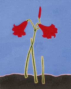 Artificial lily   2005   50x40 cm   oil on canvas
